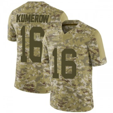 Men's Jake Kumerow Green Bay Packers Nike Limited 2018 Salute to Service Jersey - Camo