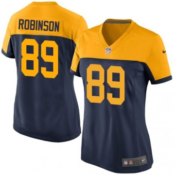 Women's Dave Robinson Green Bay Packers Nike Limited Alternate Jersey - Navy Blue