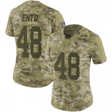 Women's Kabion Ento Green Bay Packers Nike Limited 2018 Salute to Service Jersey - Camo