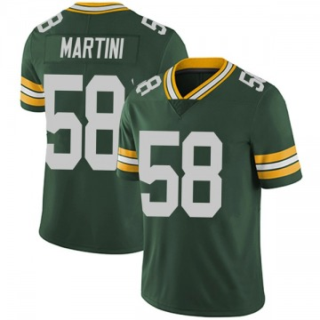 Youth Greer Martini Green Bay Packers Nike Limited Team Color Vapor Untouchable Jersey - Green