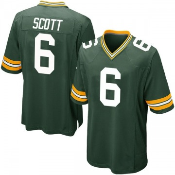 Youth JK Scott Green Bay Packers Nike Game Team Color Jersey - Green