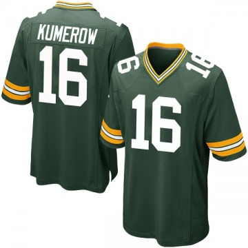 Youth Jake Kumerow Green Bay Packers Nike Game Team Color Jersey - Green