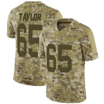 Youth Lane Taylor Green Bay Packers Nike Limited 2018 Salute to Service Jersey - Camo